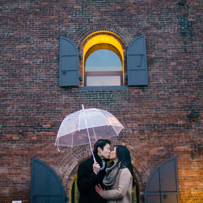 Artistic Brooklyn Engagement Session