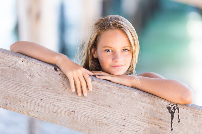 Tween Girl Beach Session Newport Beach Photographer