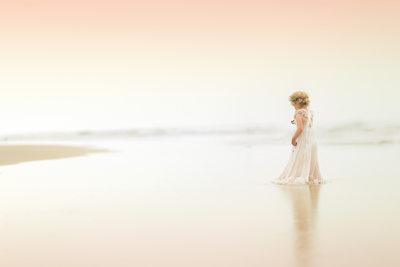 Dreamy Child Beach Photography Newport Beach OC