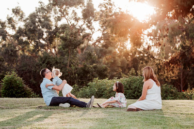 Lifestyle Family Portraits Orange County Photographer