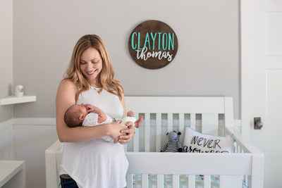 In Home Lifestyle Newborn Photography Orange County