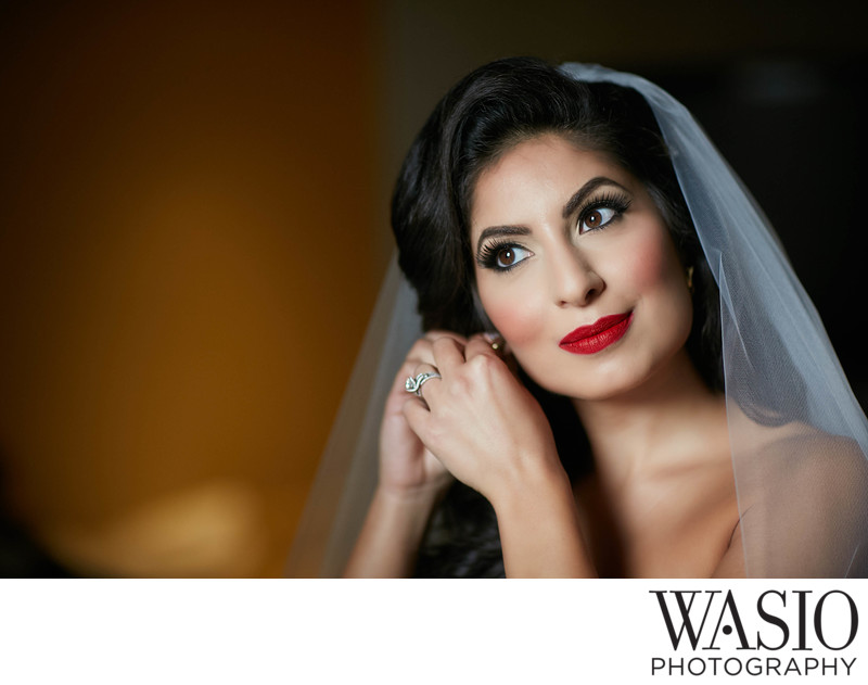 Bridal Preparation Portrait