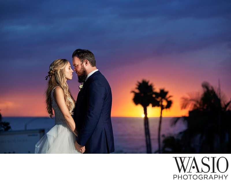 La Jolla California Romantic Sunset Portrait