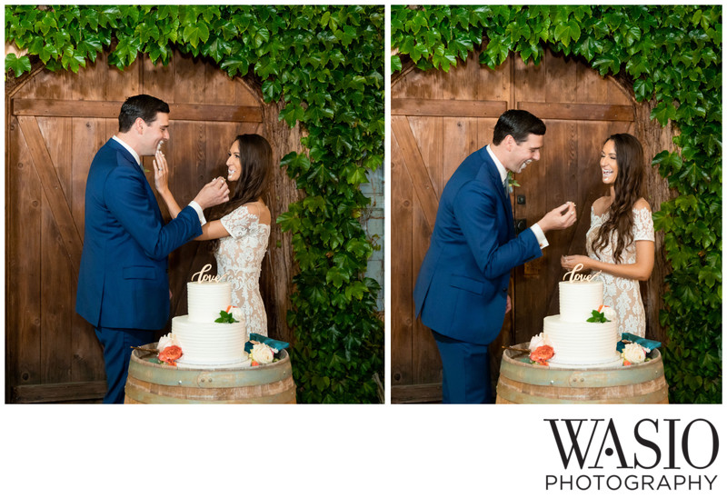 Wedding Cake Smashing at Milagro Winery