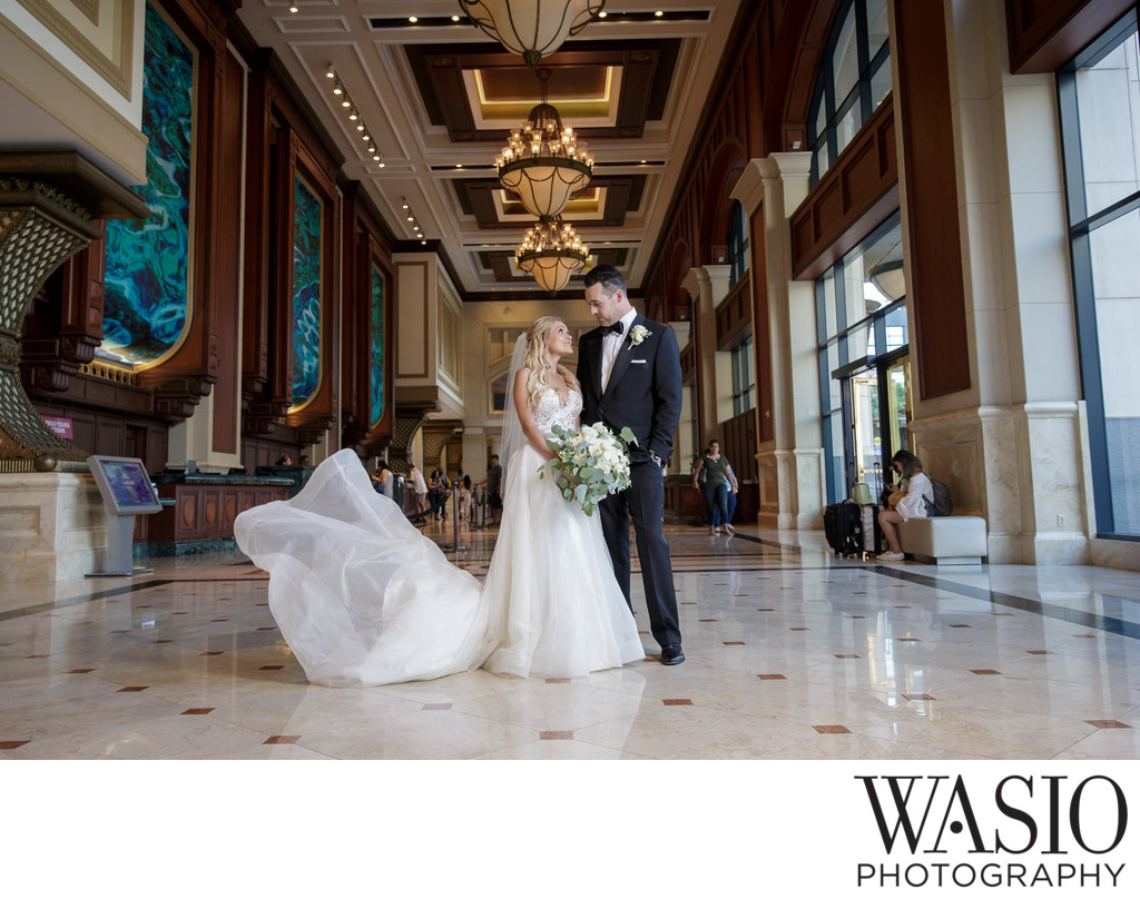 San Diego Manchester Grand Hyatt Wedding