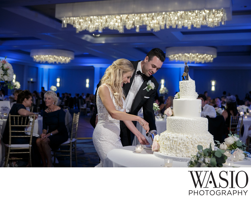 Manchester Grand Hyatt Wedding Reception San Diego