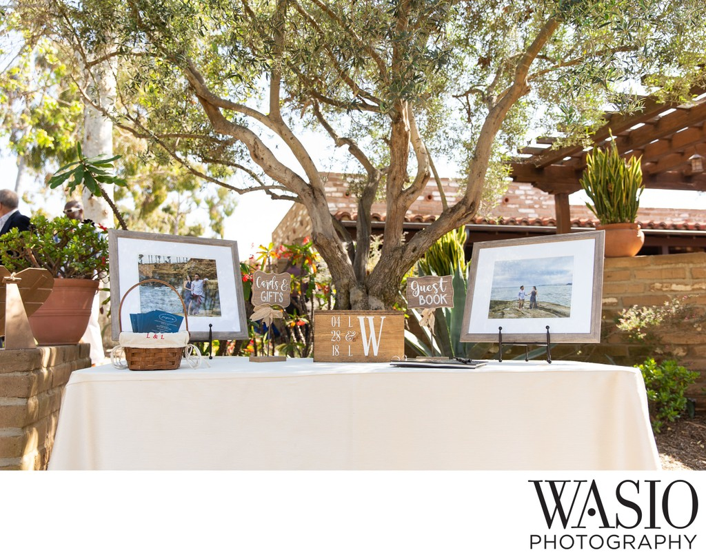 Fine Art Prints at Wedding Reception
