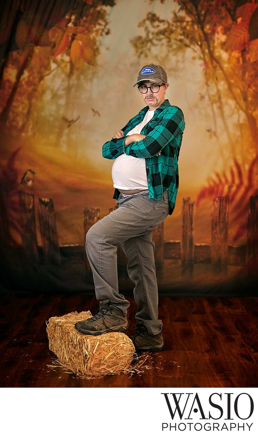Halloween Fun Maternity Portrait