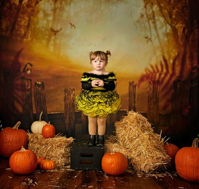 Halloween Studio Costume Portrait