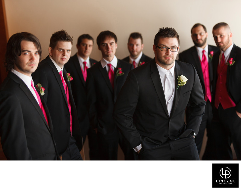 cleveland groomsmen photos