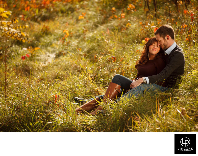 hinckley ohio engagement session
