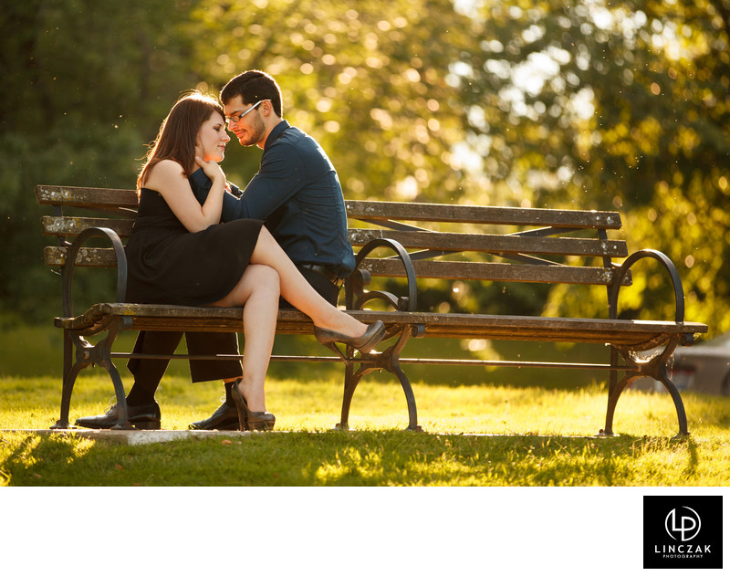 wade oval engagement session