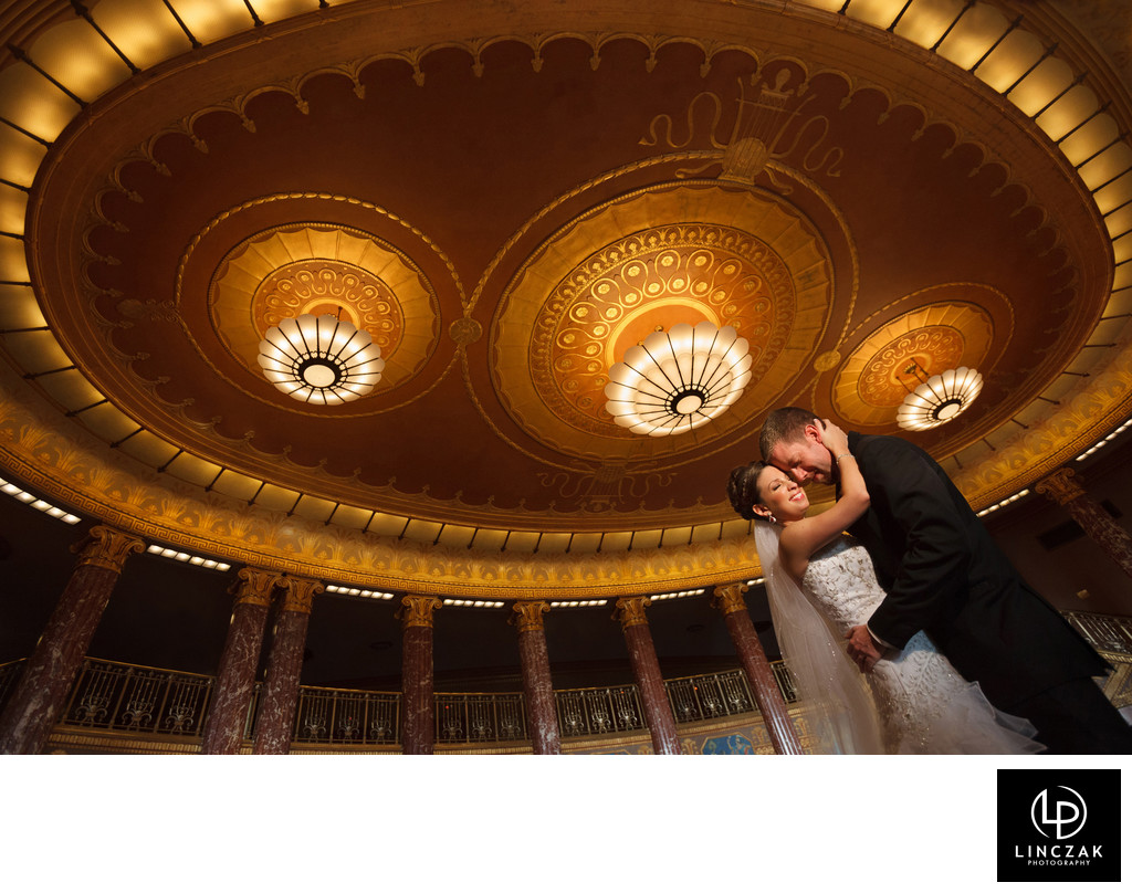 severance hall wedding photos