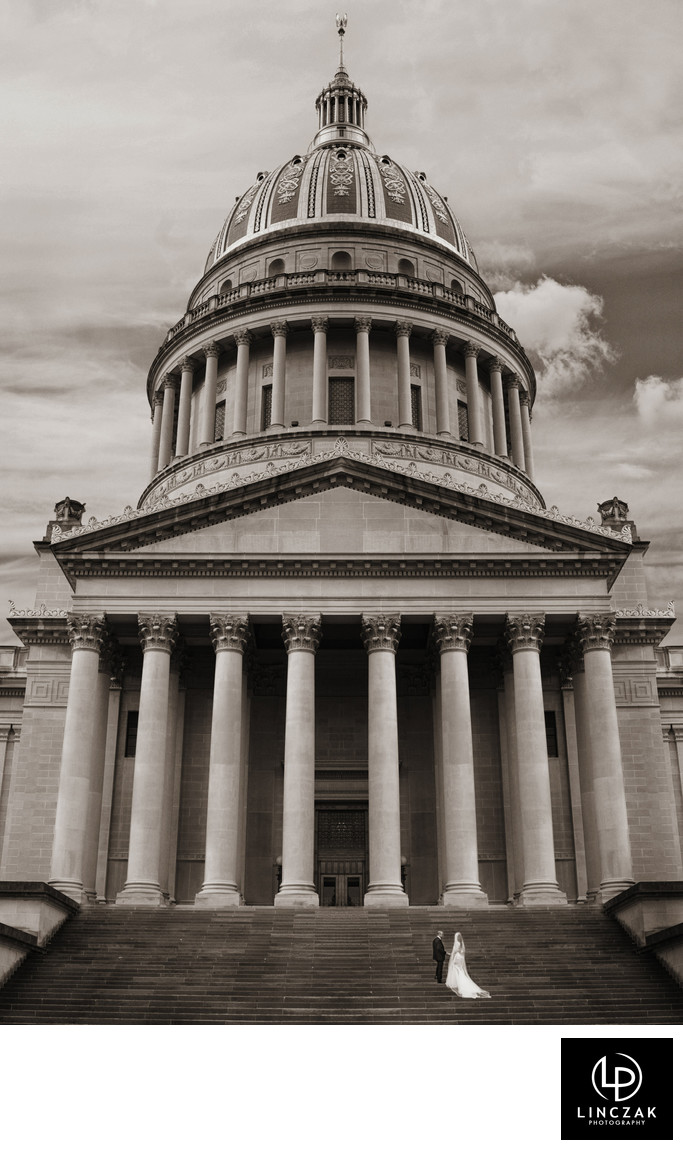 west virginia state captiol weddings