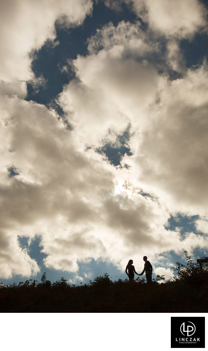 big sky engagement session