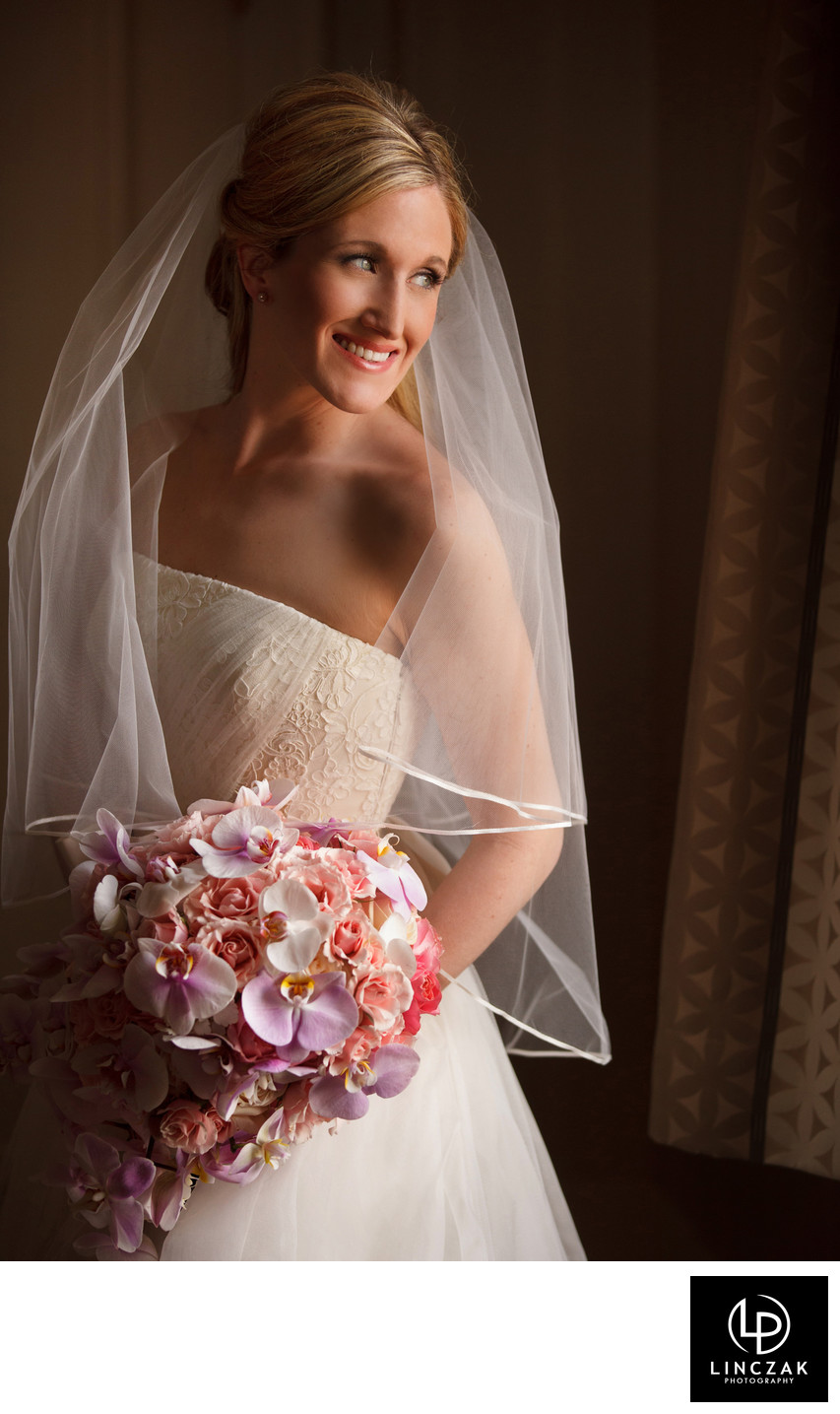 beautiful cleveland bridal portrait