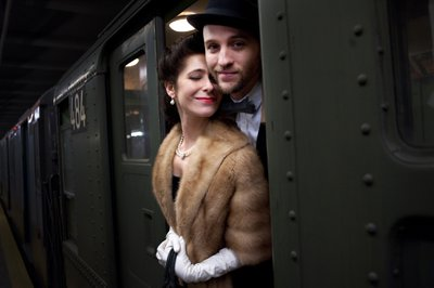 Historic Train Engagement Session