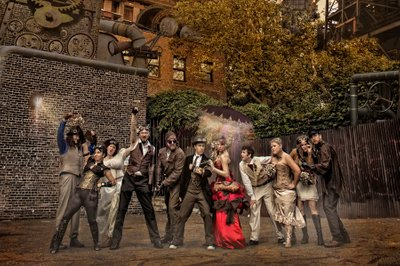 A Very Steampunk Wedding