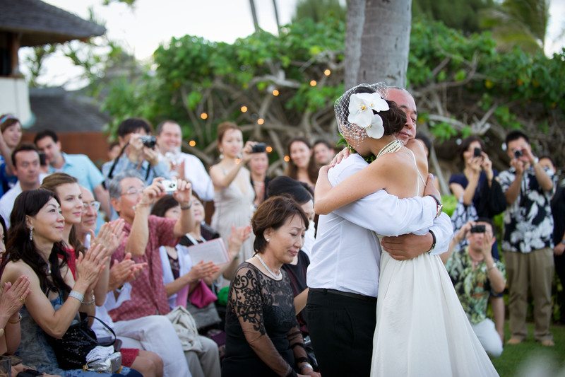 Paul Mitchell Estate Wedding Photo - Lanikai