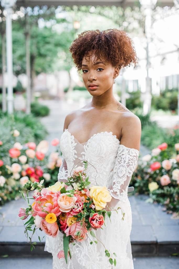 colorful dallas wedding photographer