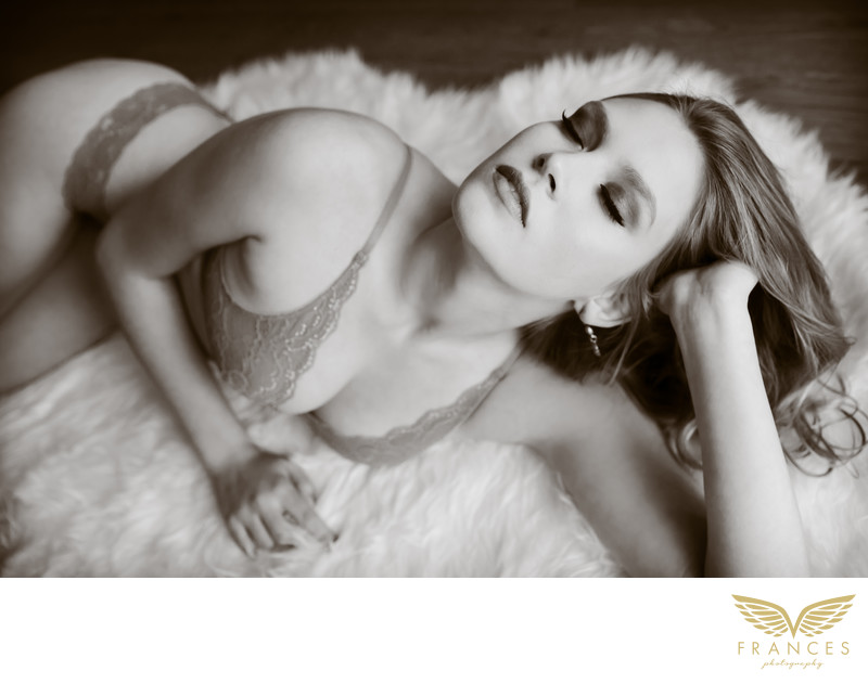 Sexy confident woman Denver Colorado boudoir
