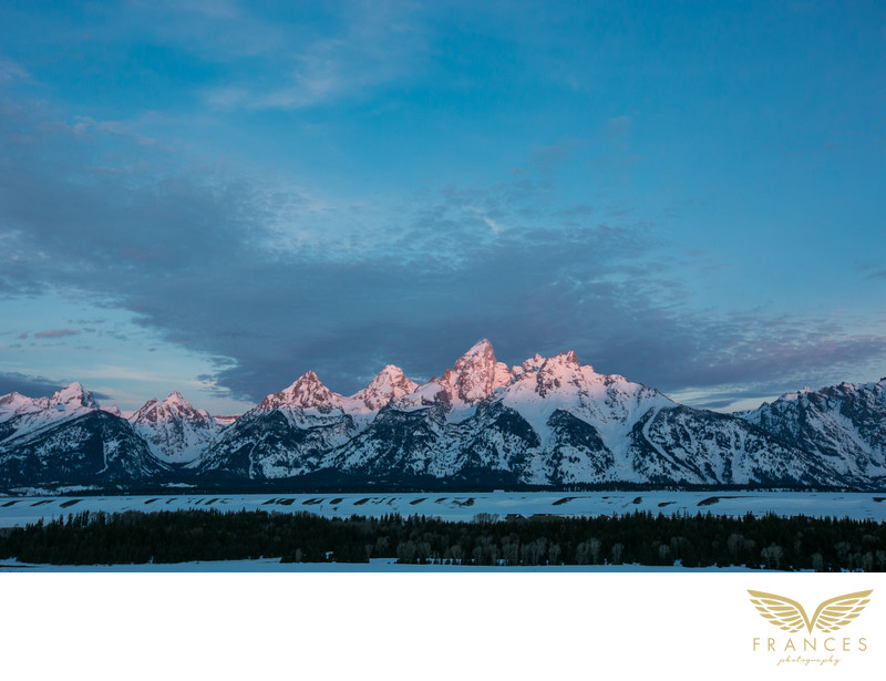 Teton sunrise Jackson Hole Denver photographer