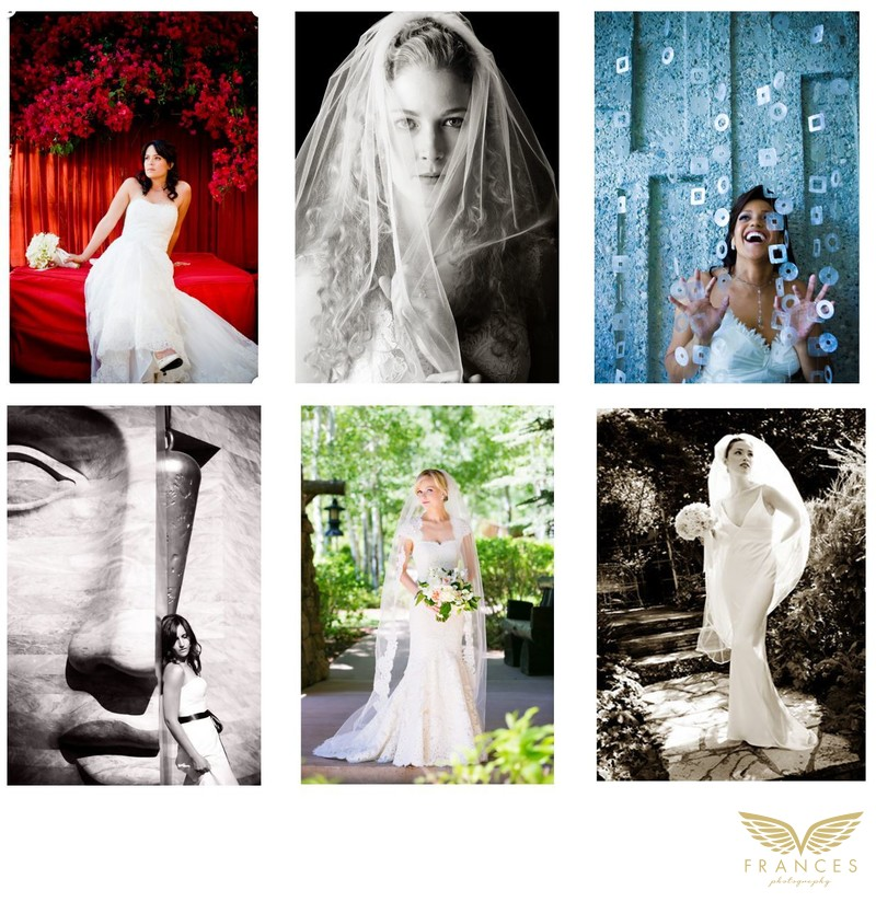 Bride collection Robert Evans Frances Photography