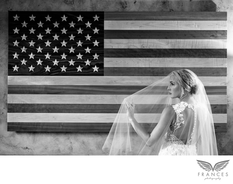 American bride Robert Evans wedding photography