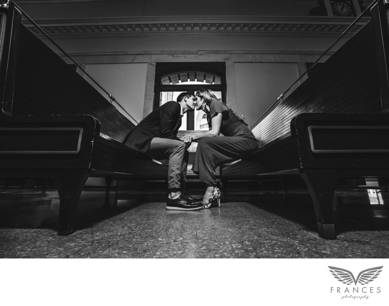 Missy Franklin Engagement Photography Union Station