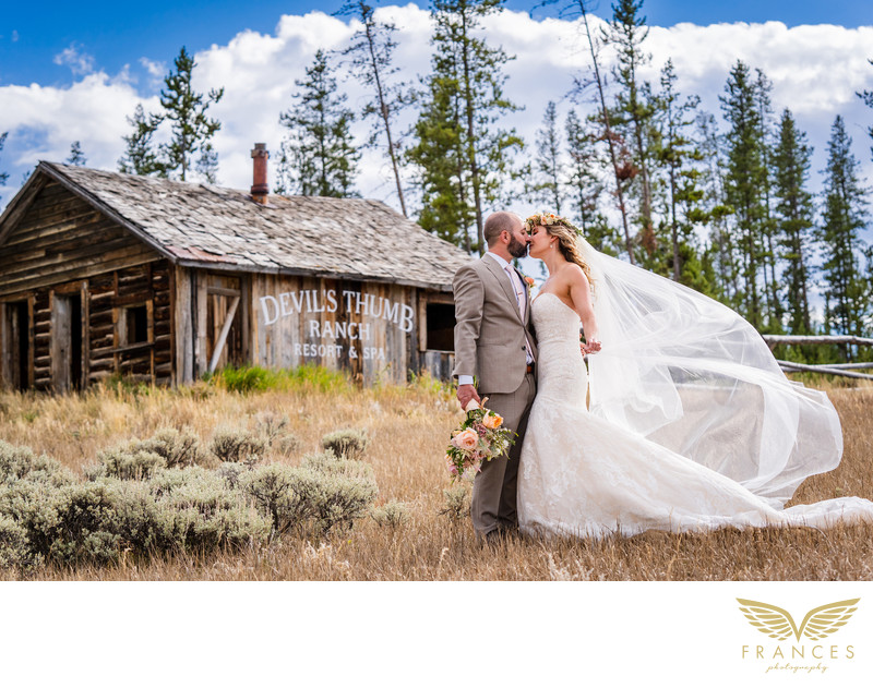 Devils Thumb Ranch Wedding Photography Colorado