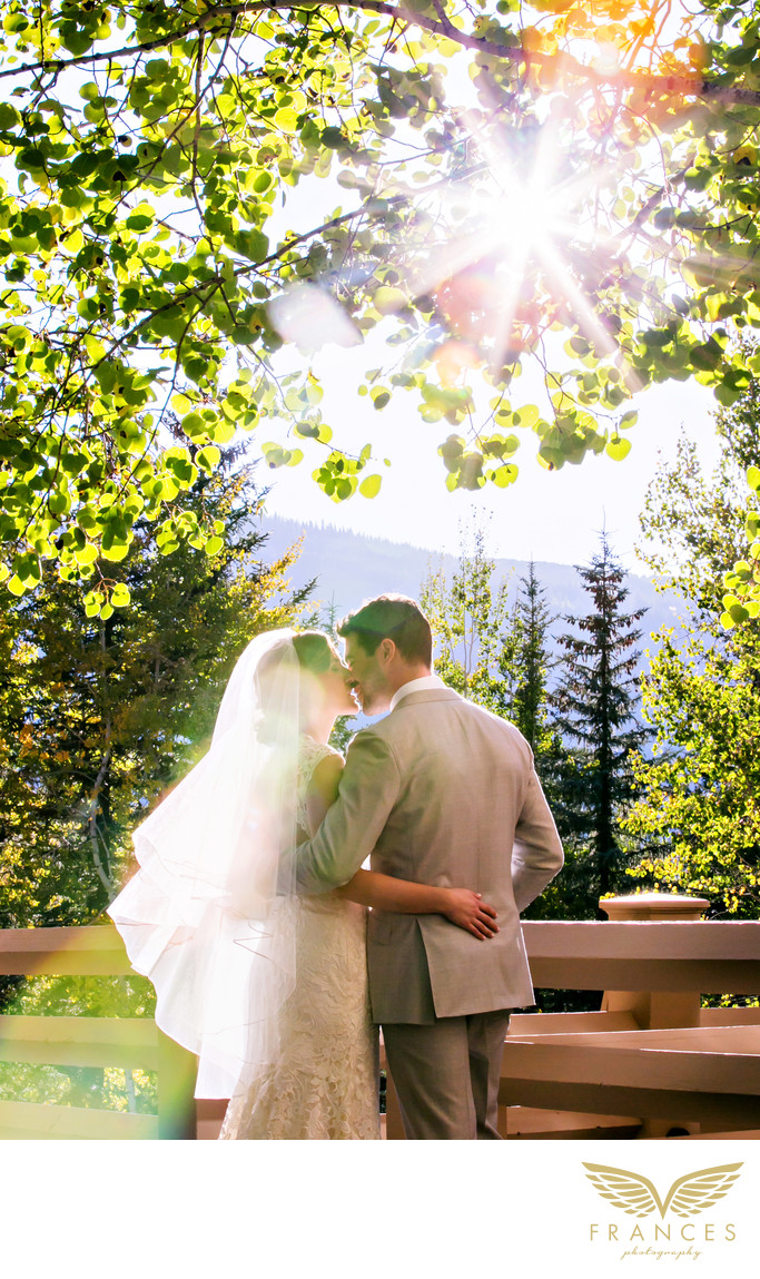 Bride Groom saddleridge Colorado wedding photography