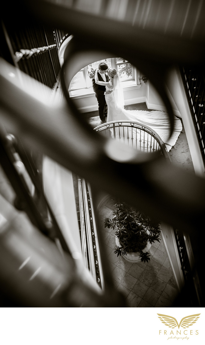 Broadmoor wedding pictures Colorado bride groom