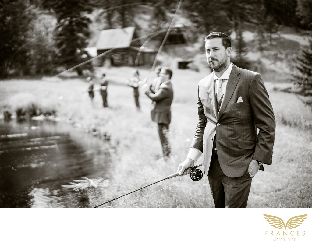 Chelsea Magness Groom Colorado wedding photographer