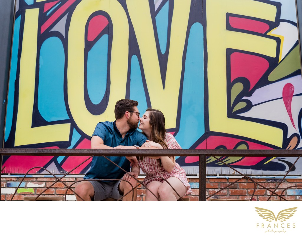 Engagement Photos in Downtown Denver