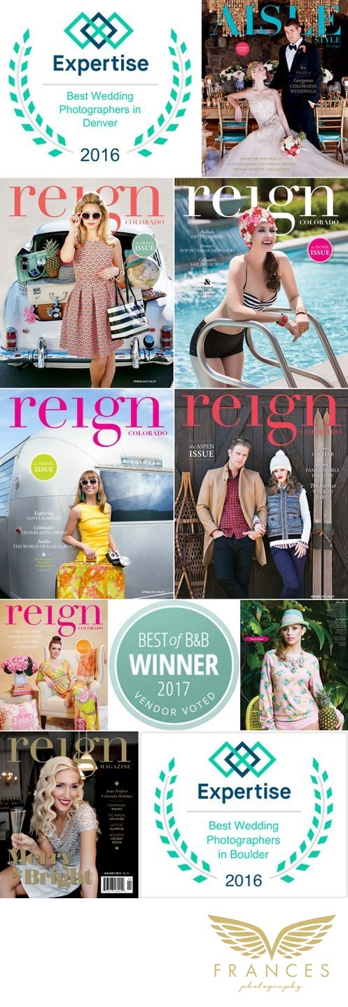 Reign Magazine cover Frances Photography credentials
