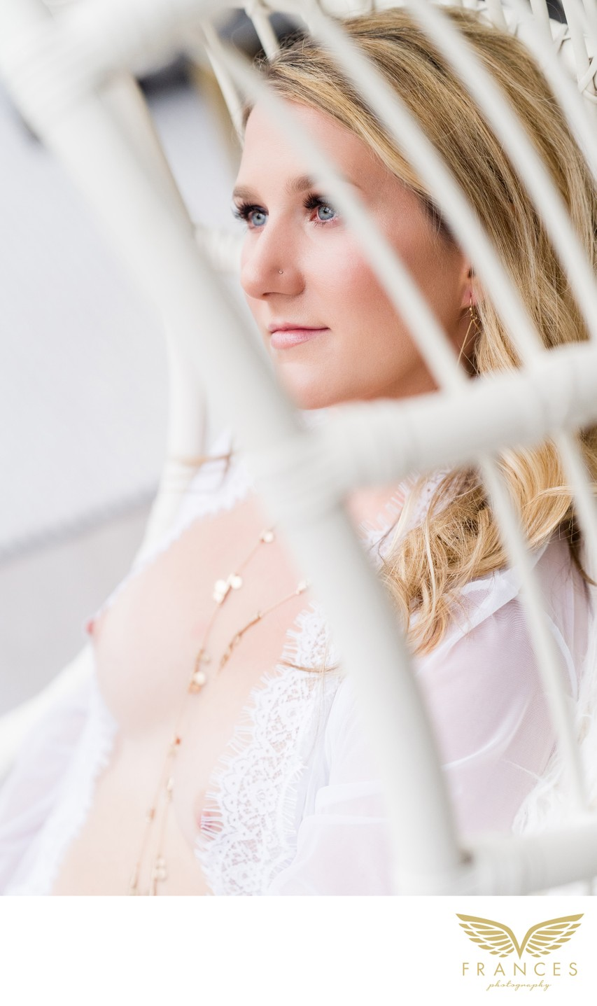 Intimate Photography from a Bridal Boudoir Photo Shoot