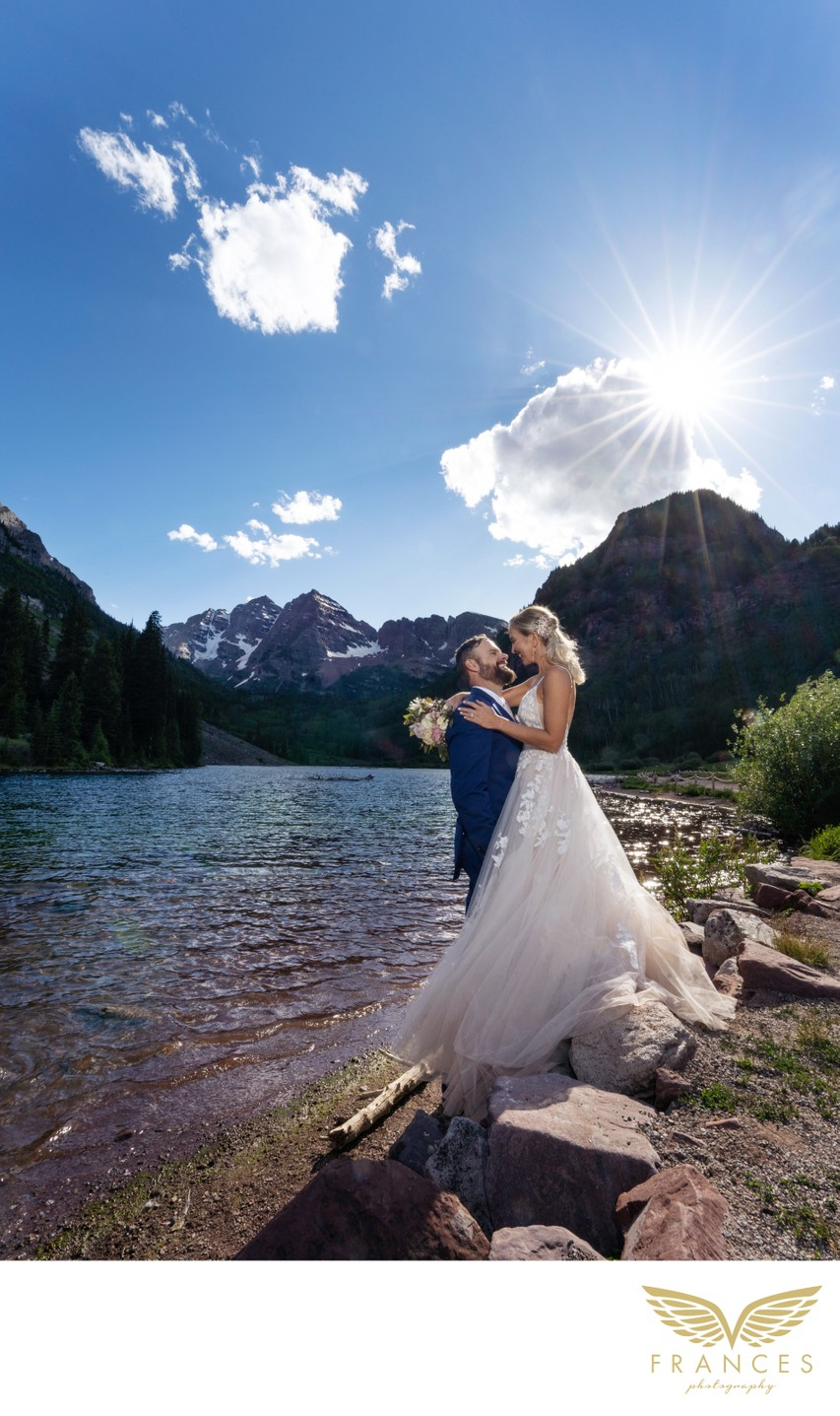 Maroon Lake Aspen Colorado Wedding Photography