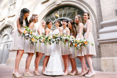 Denver Wedding Photographer Captures DCPA Photos