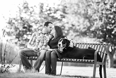 Cheeseman Park Couple Denver engagement photography