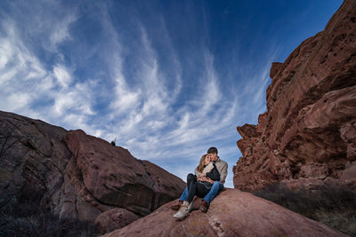 Missy Franklin Engagement Photography at Red Rocks
