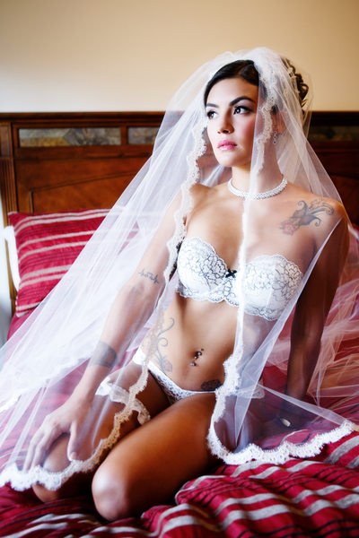 Bridal boudoir photography Colorado Rocky Mountains