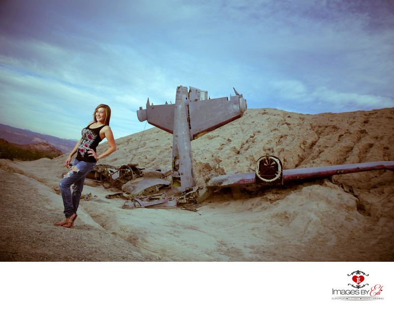 Las Vegas Highschool senior Photographer
