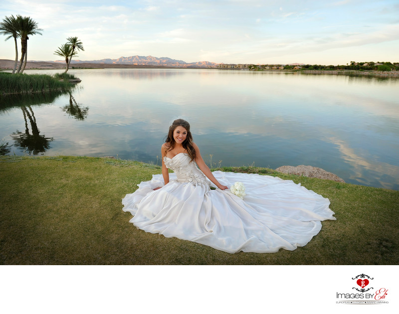 Best Lake Las Vegas Wedding Photographer