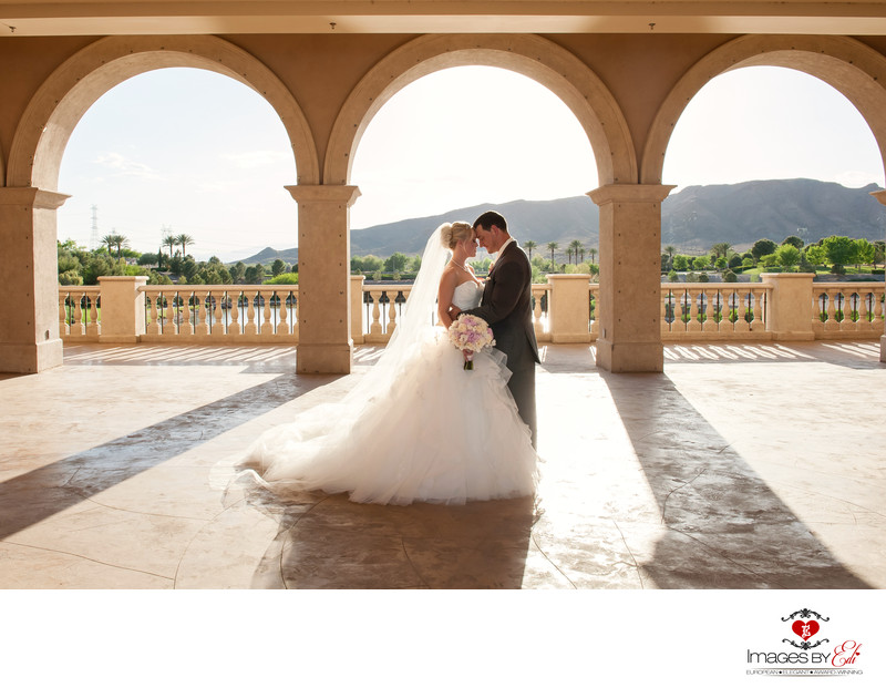 Beautiful wedding photography at Lake Las Vegas