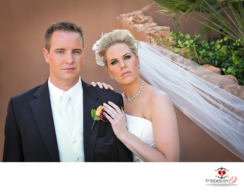 Westin Lake Las Vegas bride and groom