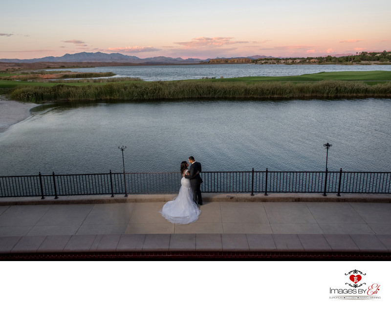 ​Westin Lake Las Vegas Resort wedding photo
