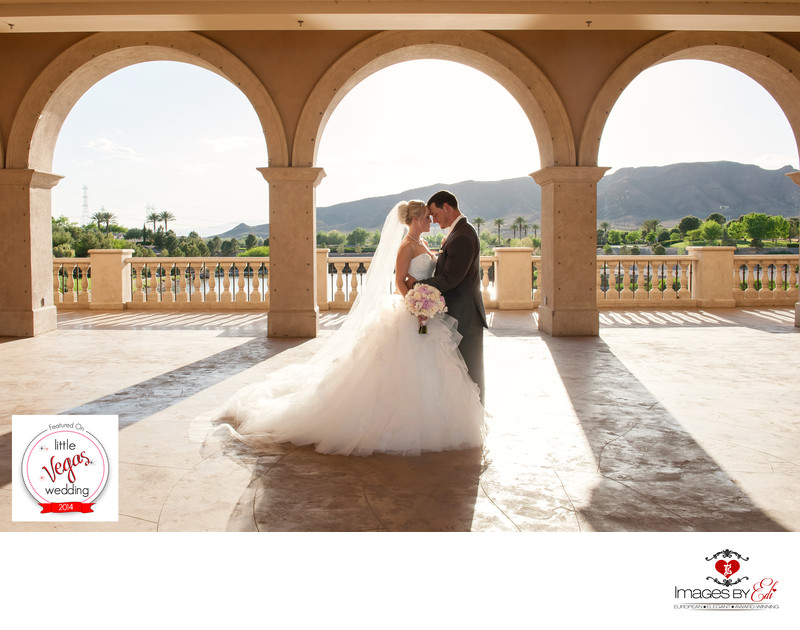 Dreamy Hilton Lake Las Vegas Wedding Featured on Little Vegas wedding Blog