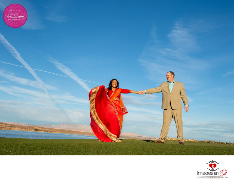 Maharani wedding photography at the Westin Lake Las Vegas Resort and spa