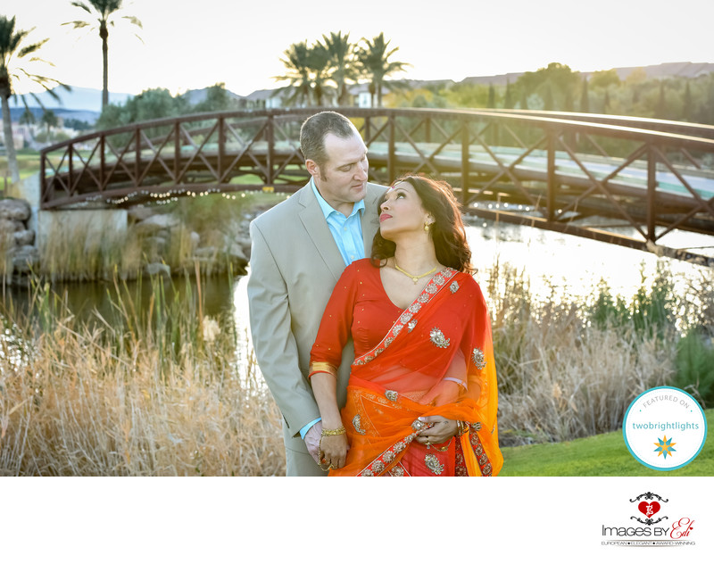 Hollywood Meets Bollywood- Westin Lake Las Vegas Resort wedding featured on Two bright lights Blog
