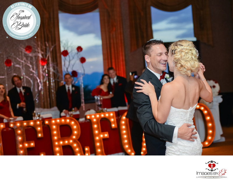 Dragonridge Las Vegas Country Club Bonnie & Clyde themed wedding is featured on Inspired Bride Wedding Blog